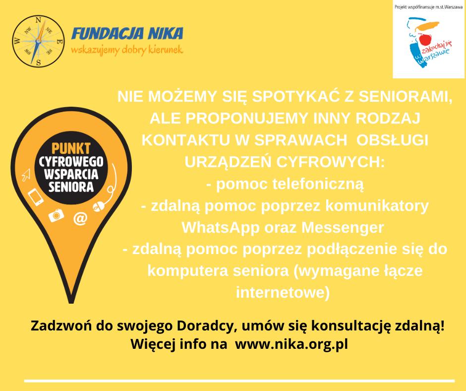 Thumbnail for the post titled: Nowe formy wsparcia cyfrowego dla seniorów (wzwiązku zkoronawirusem)